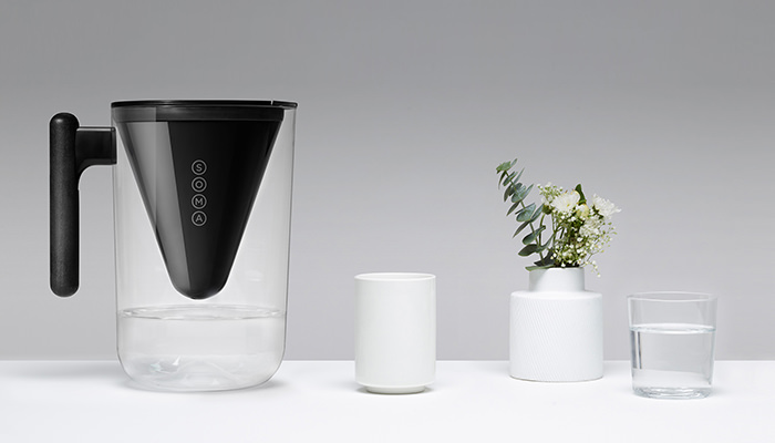 Soma Black Pitcher